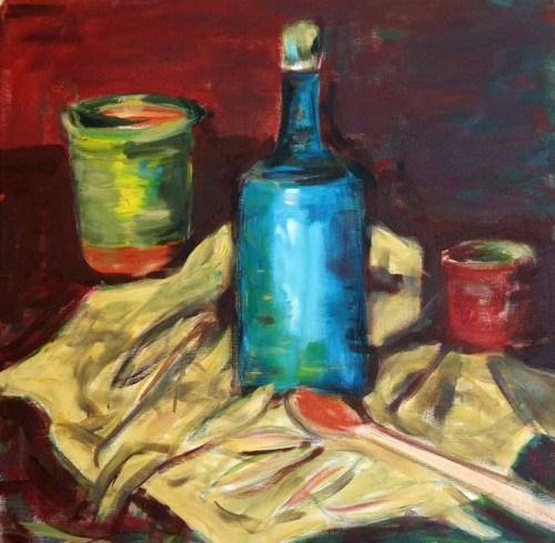Pictura Carmen Tanasescu in Tabara de pictura Hobby Art 2012