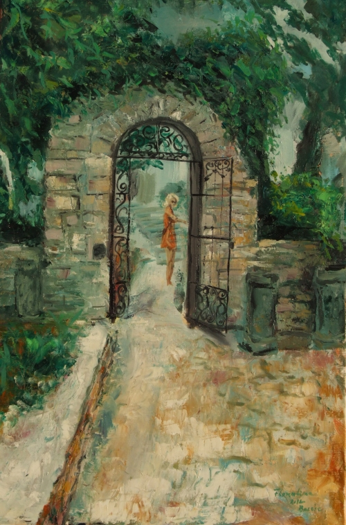 Pictura Florentina Otari in Tabara de pictura Hobby Art- Balcic 2012