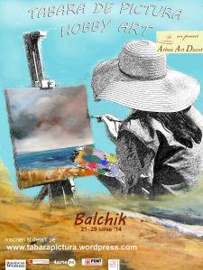 Tabara de pictura Hobby Art - Balchik 2014