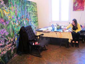 tabara de pictura hobby art-despre-artistul-Mirela-Traistaru-atelier-de-artist-44