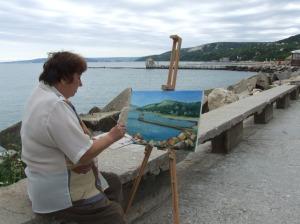 Tabara de pictura Hobby Art despre Cornelia Vasiloiu