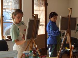 Tabara de pictura cu profesor