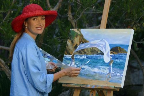 Tabara de pictura Hobby Art despre Jane Seymour