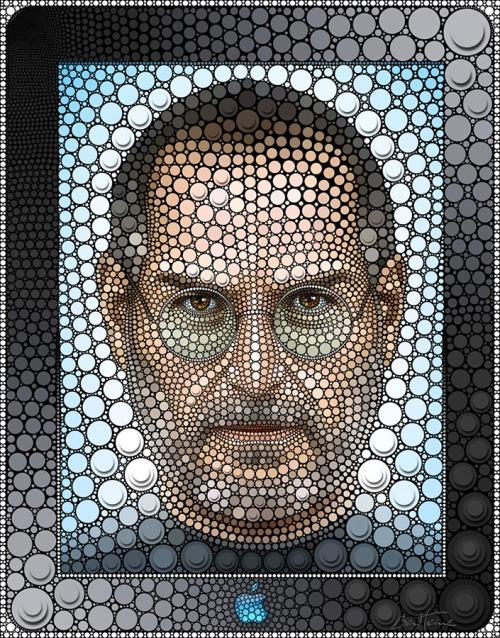 Tabara de pictura Hobby Art despre portrete in tehnica Digital Circlism a lui Ben Heine