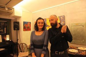 Tudor si Simona - echipa Taberei de pictura Hobby Art