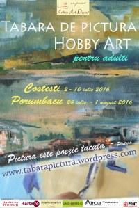 Tabara de pictura Hobby Art vara 2016