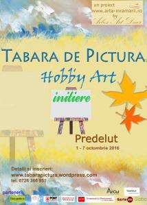 Tabara de pictura Hobby Art pentru incepatori editia 2016