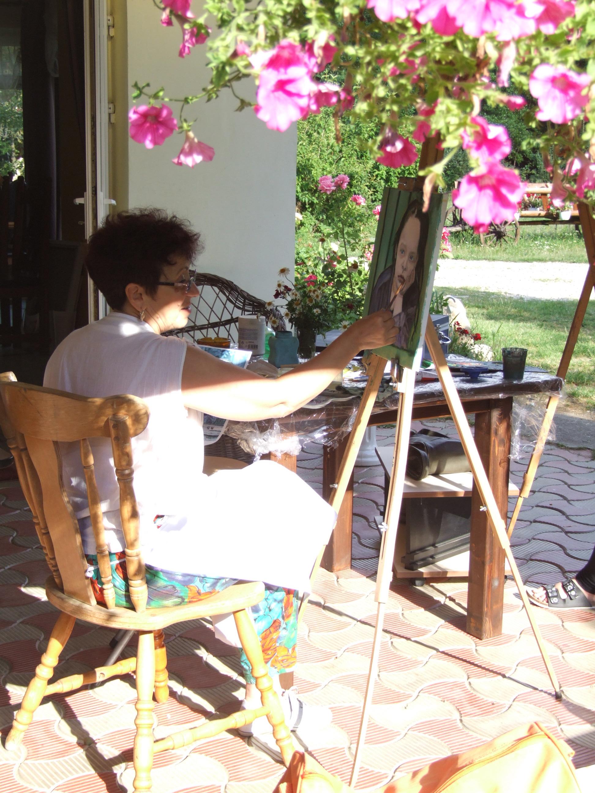 Tabara de pictura Hobby Art
