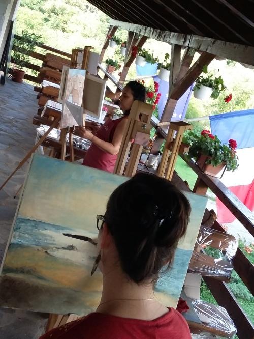 Tabara de pictura Hobby Art - editia de vara 2019