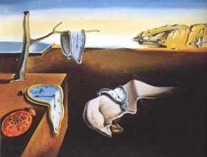 Persistenta memoriei- Salvador Dali
