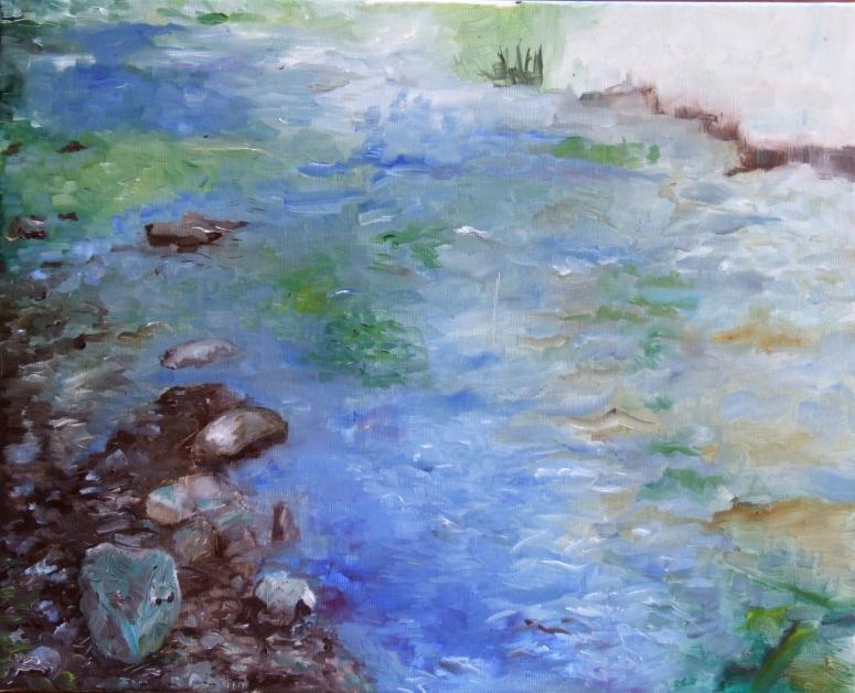 Galeria de picturi din Tabara de pictura Hobby Art vara 2017 Poiana Galdei