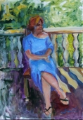 Picturi realizate in Tabara de pictura Hobby Artla Miclauseni in editia de vara 2017