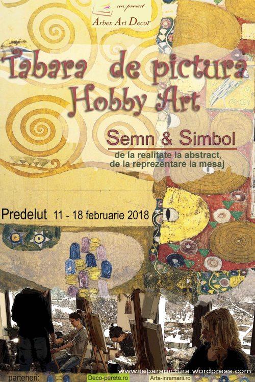 Tabara de pictura Hobby Art - editia de iarna 2018 -seria din februarie