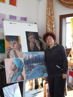 Tabara de pictura Hobby Art editia de iarna 2018 - expozitia cu evaluarea la final de tabara