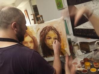 Tabara de pictura Hobby Art editia de iarna 2018 februarie