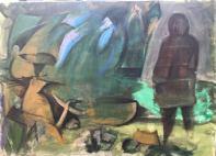 Picturi Carmen Tanasescu din Tabara de pictura Hobby Art 2018