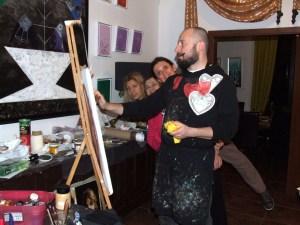 Tudor Francu - instructor artistic Tabara de pictura Hobby Art