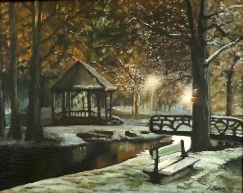 Pictura Liana Stanescu in Tabara de pictura Hobby Art
