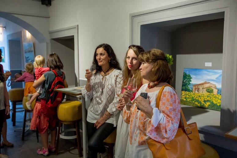 Expozitia de pictura anuala a comunitatii Taberei de pictura Hobby Art 2018