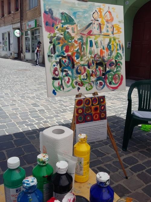 Strada dell Arte 2018 - atelier stradal de pictura pentru adulti