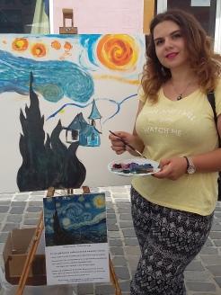 Strada dell Arte 2018- atelier stradal de pictura pentru adulti