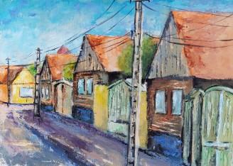 Galeria de picturi din tabara de pictura Hobby Art de la Gura Raului 2018
