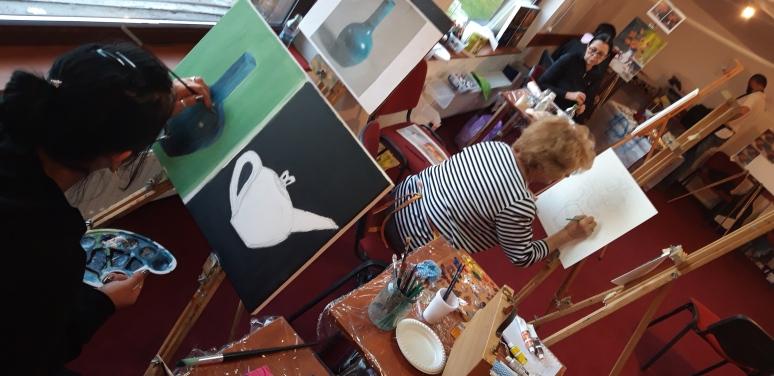 Atelier intensiv de pictura de weekend la Brasov