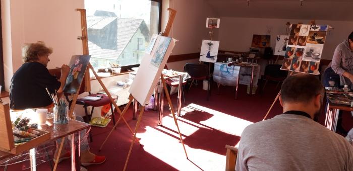 curs de pictura in weekend la Brasov