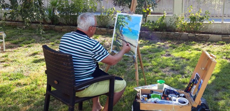 Tabara de pictura Hobby Art Thassos