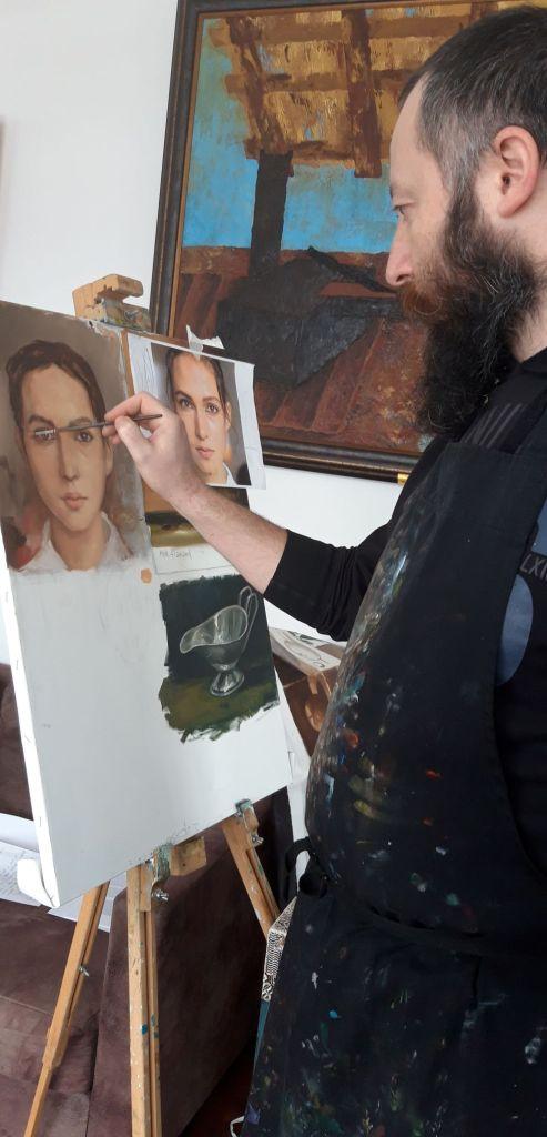 Tabara de pictura Hobby Art -editia de iarna