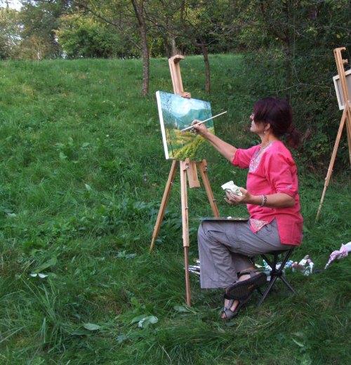 Interviu cu Florentina Otari pentru Tabara de pictura Hobby Art