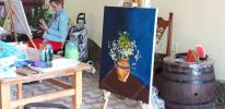 Instantanee din Tabara de pictura Hobby Art pentru incepatori-editia 2019-natura statica