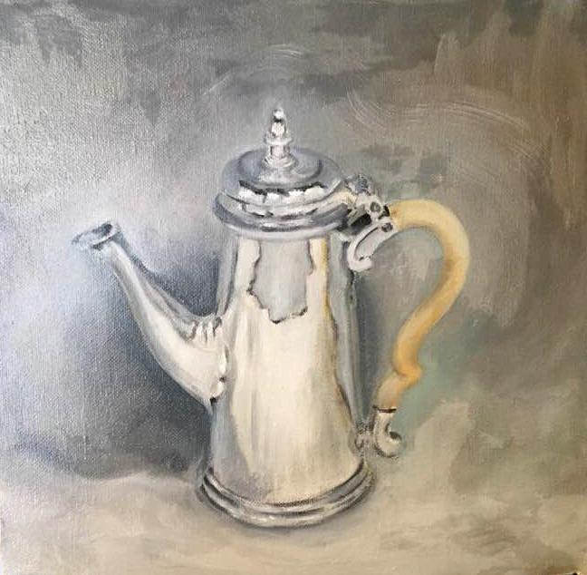 Picturi realizate in Tabara de pictura Hobby Art editia pentru incepatori 2019