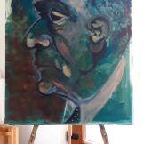 Portret Arnold Schoenberg de Voica Silvia Potinga