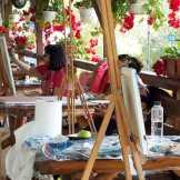 Tabara de pictura Hobby Art - peisaj-Porumbacu de sus 2019