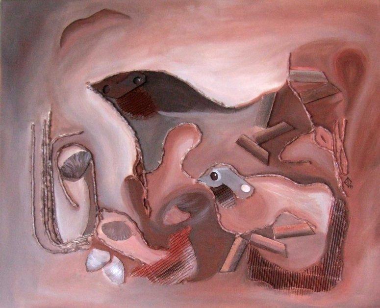 Picturi Elena Dinga in Tabara de pictura Hobby Art editia de vara 2019 Porumbacu