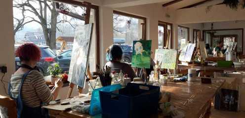 Tabara de pictura Hobby Art -iarna 2020