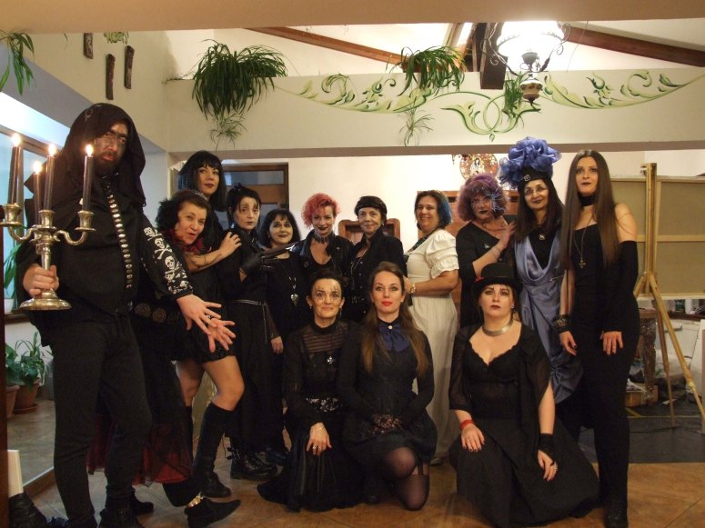 Gothic Party in Tabara de pictura Hobby Art