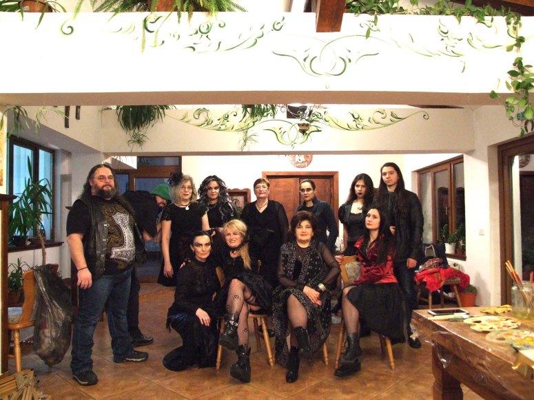 Seara tematica Gothic Party II in Tabara de pictura Hobby Art editia de iarna 2020