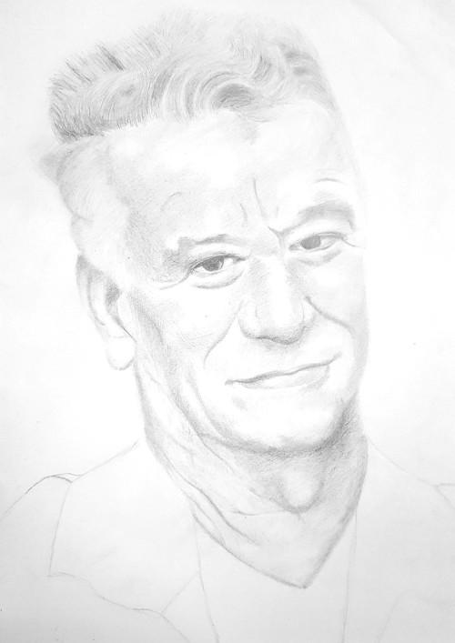 Portretul tatalui Mihaelei Baci