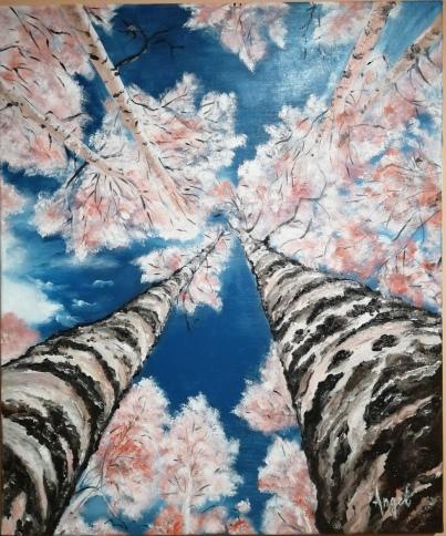 Oxygen | Angelica Zaharie | ulei panza 70×50 cm