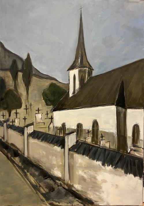 Faith | Carmen Tanasescu | ulei panza 80×100 cm