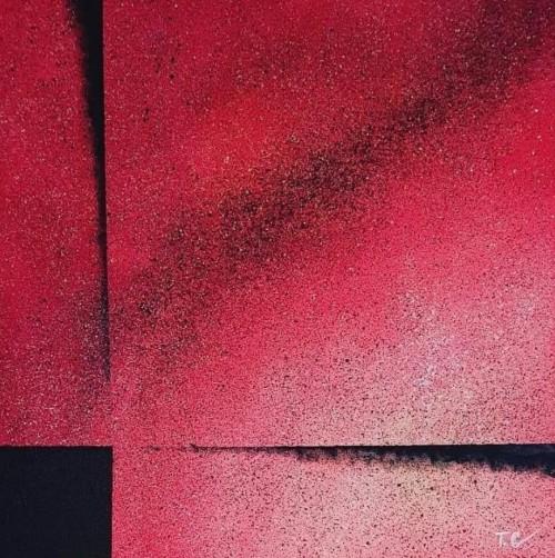 Minunea mea | Tatiana Cojocaru | acril panza 40×40 cm